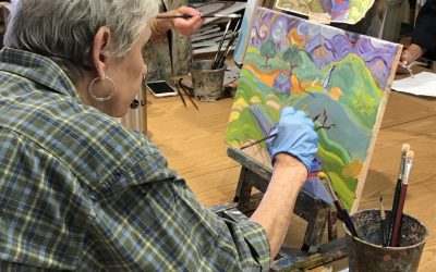 To Art? Or not to Art? That is the question. Spring Art Classes start soon!